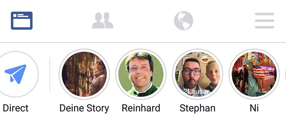 Facebook Stories – wer nutzt sie?